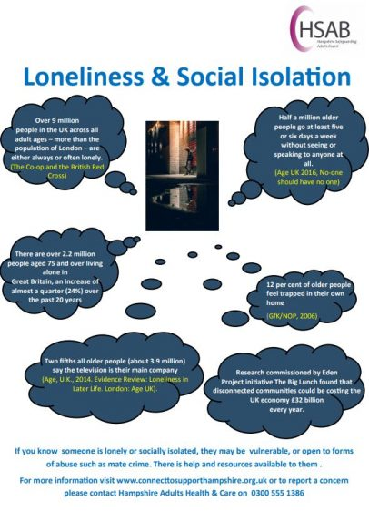 Loneliness infographic picture